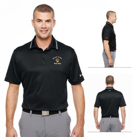 Customized Under Armour MenS Coldblack Address Polo