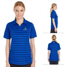 Promotional Under Armour Ladies Tech Stripe Polo