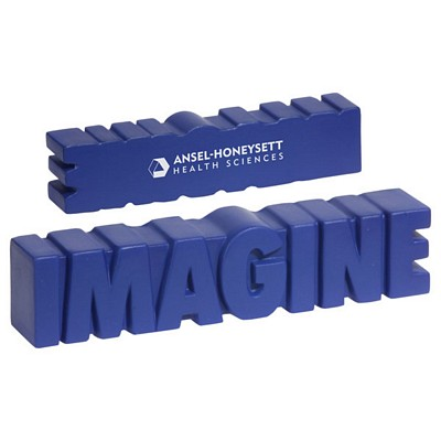 Customized Imagine Word Stress Reliever