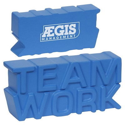 Customized Teamwork Word Stress Reliever