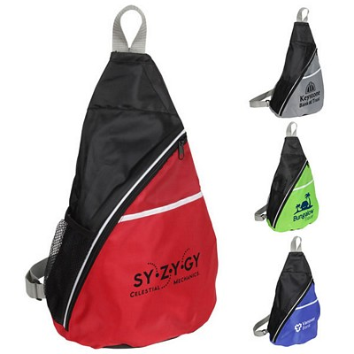 Promotional Busy Day Sling Backpack