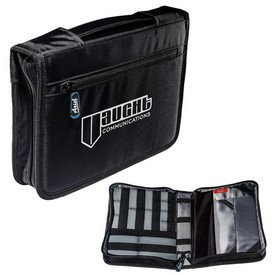 Promotional Tec Adjustable Tablet Case With Accessory Organizer