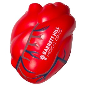 Promotional Heart With Veins Stress Reliever