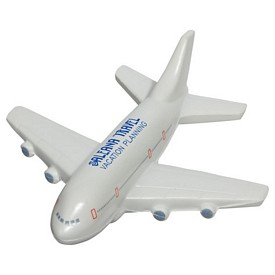 Promotional Passenger Airplane Stress Reliever
