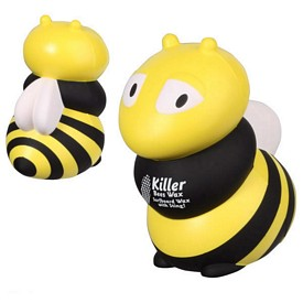 Customized Bubble Bee Stress Reliever
