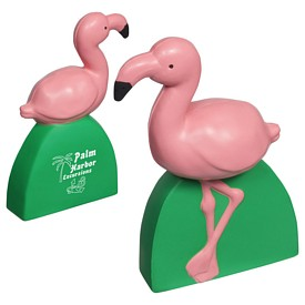 Promotional Flamingo Stress Reliever