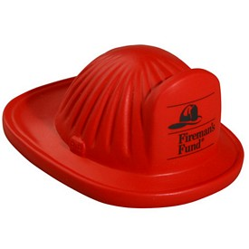 Promotional Fire Helmet Stress Reliever