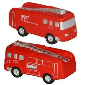 Promotional Fire Truck Stress Reliever
