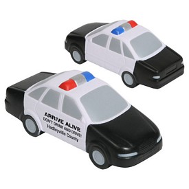 Custom Police Car Stress Reliever