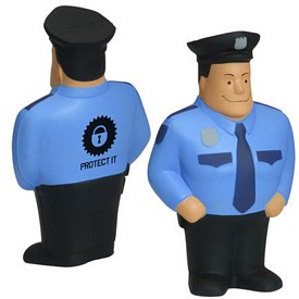 Customized Policeman Stress Reliever