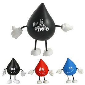 Promotional Droplet Figure Stress Reliever