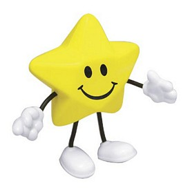 Promotional Star Figure Stress Reliever
