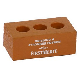 Promotional Brick With Holes Stress Reliever