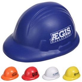 Customized Hard Hat Stress Reliever