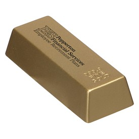 Custom 9999 Fine Gold Bar Stress Reliever