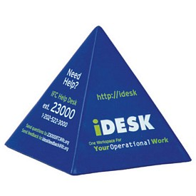 Promotional Pyramid Stress Reliever