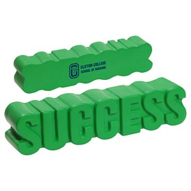 Customized Success Word Stress Reliever