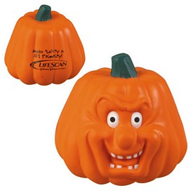 Custom Pumpkin Maniacal Stress Reliever