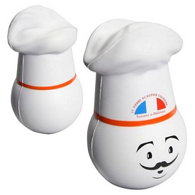 Customized Chef Mad Cap Stressball