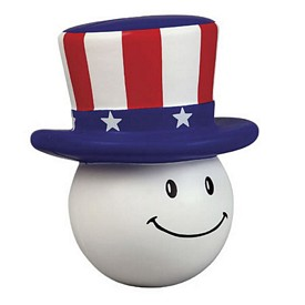Customized Patriotic Mad Cap Stress Reliever
