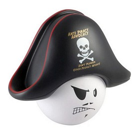 Custom Pirate Mad Cap Stress Reliever