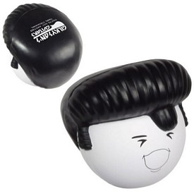 Promotional Rock N Roll Elvis Hair Stress Reliever