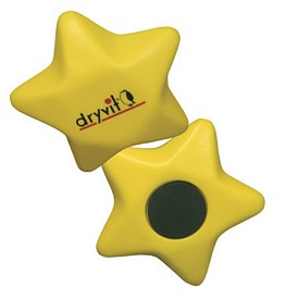 Promotional Star Magnet Stress Reliever