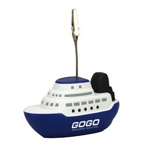 Custom Cruise Boat Memo Holder Stress Reliever