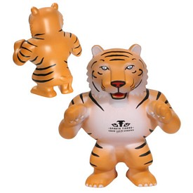 Custom Tiger Mascot Stress Reliever