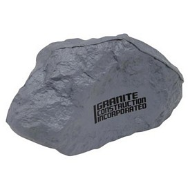 Custom Gray Rock Stress Reliever
