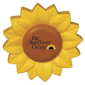 Promotional Sunflower Stress Reliever