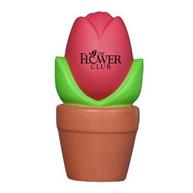 Promotional Tulip In Pot Stress Reliever
