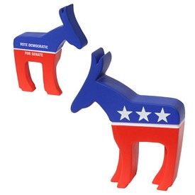 Promotional Democratic Donkey Stress Reliever