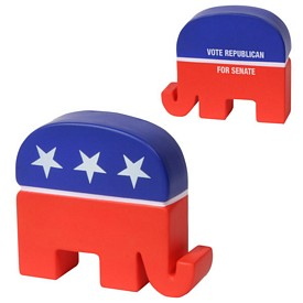 Custom Republican Elephant Stress Reliever