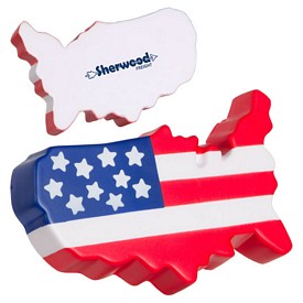 Promotional Us Map Stress Reliever
