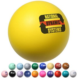 Customized Round Stress Ball Stress Reliever