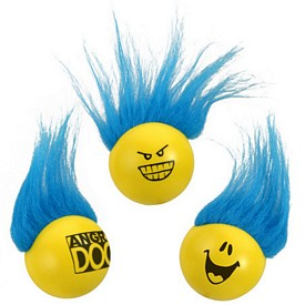 Promotional Troll Ball Stress Reliever