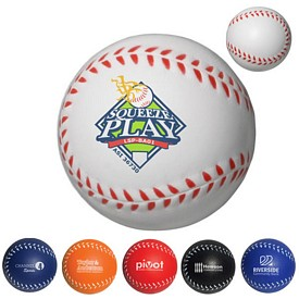 Customized Baseball Stress Reliever