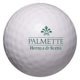 Custom Golf Ball Stress Reliever