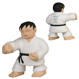 Customized Karate Man Stress Reliever