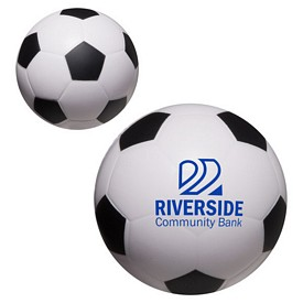 Promotional Soccer Ball Stress Reliever