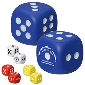 Customized Dice Stress Reliever