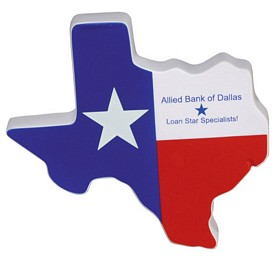 Promotional Lone Star State Texas Stress Reliever