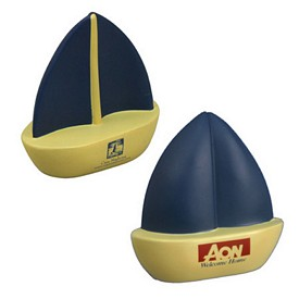 Promotional Sailboat Stress Reliever