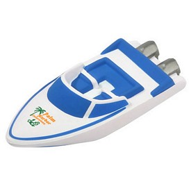 Promotional Speed Boat Stress Reliever