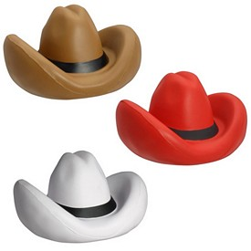 Promotional Cowboy Hat Stress Reliever