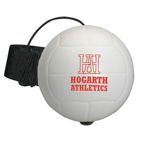 Custom Volleyball Yo-Yo Stress Reliever