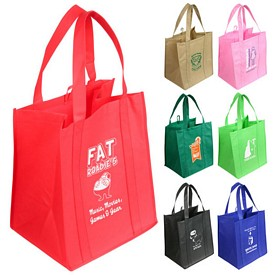 Customized Sunbeam Jumbo Nonwoven Shopping Tote Bag