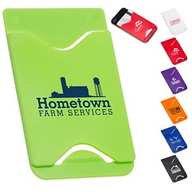 Promotional Plastic Credit Card Mobile Wallet