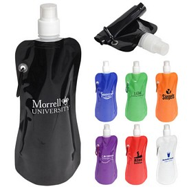 Promotional Flex Water Bottle With Carabiner